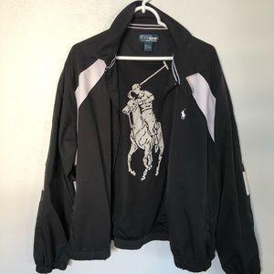 Polo by Ralph Lauren black/white jacket windbreake